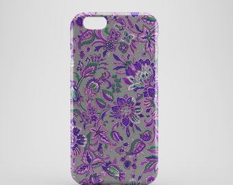 Abstract Floral Phone case,  iPhone X Case, iPhone 8 case,  iPhone 6s,  iPhone 7 Plus, IPhone SE, Galaxy S8 case, Phone cover, SS133c2