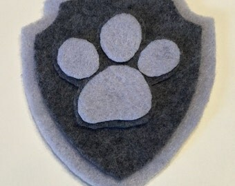 Paw Patrol Chase Rocky Inspired Pup Tag~Pup Badge~Paw Patrol Chase Costume~Paw Patrol Rocky Costume~ Paw Patrol Costume