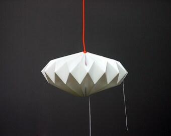 Origami polypropylene lamp - Lampshade PLISÉ star polypropylene