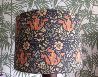 William Morris 'Compton' fabric - Handmade lampshade in various sizes