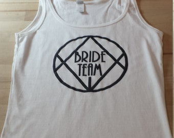 T-shirt in white cotton for the flange Team!