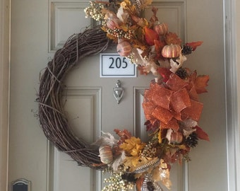 "18"" Fall Wreath"