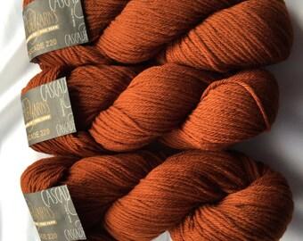 CASCADE YARNS 220 / Ginger 2414 DyeLot # 6710 / Peruvian Highland Wool