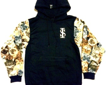 Street Ice Cat Sleeve Hoody