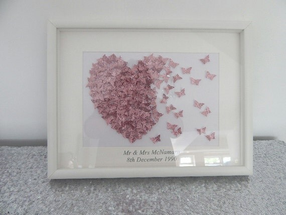 Unique personalised engagementwedding or anniversary gift in