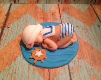 Fondant Sailor Baby