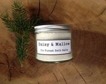 Fir Forest Bath Salts - Dead Sea + Epsom Salts - Coconut Oil - Siberian Fir - Scots Pine - Douglas Fir - Amyris - 250g - 8.8 oz