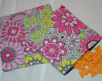 Snack Bags-Reusable Snack Bags-Sandwich Bags-Reusable Sandwich Bags-Snack and Sandwich Bags