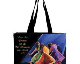 Handbag: When praises go up blessings rain down!