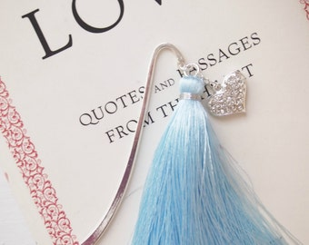 In Love Silver Bookmark