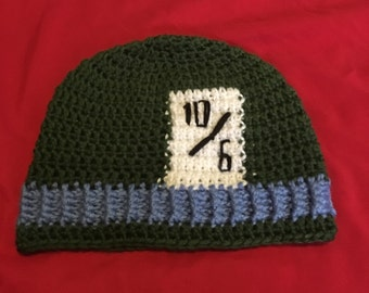 Mad Hatter Beanie (Large...Meant for Adults)