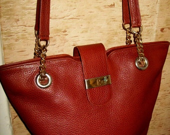 Vintage Richard hand made in Switzerland leather bag