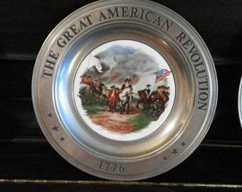 Great Americian Revolution Plates