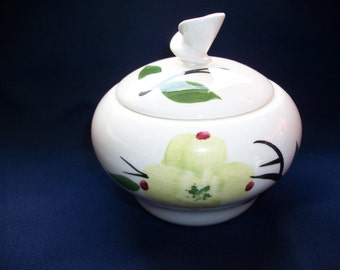 Dixie Dogwood Joni Sugar Bowl With Lid Vintage Dinnerware Mid-Century
