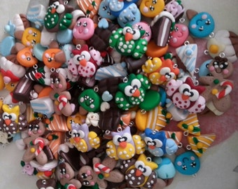 stock lot 150 pieces mixed with or without pendants hooks