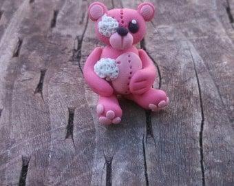 Clay forgotten bear