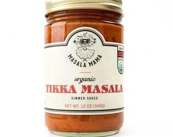 Tikka Masala - Organic Indian Simmer Sauce
