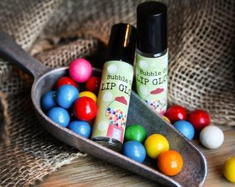 Organic Bubble Gum Lip Gloss / Lip Gloss / Natural Lip Gloss / Organic Lip Gloss / Vegan Lip Gloss / Lip Balm / Lip Balms / Lip Shine