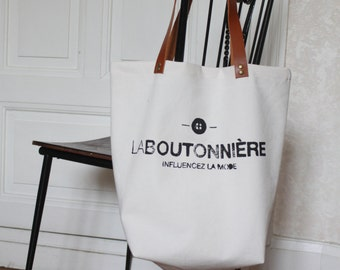 Tote Bag custom - tailored, logo printing or mark for businesses, tote bag promotional, commercial