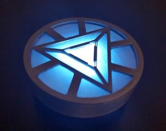 Iron Man Arc Reactor Triangular Tony Stark Wearable Cosplay Avengers prop replica