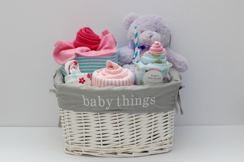 baby girl gift basket baby shower gift newborn gift unique