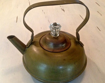 Darling Brass Teapot