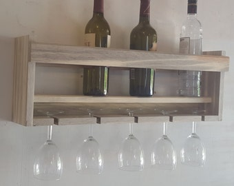 Blue Pine Wine Rack