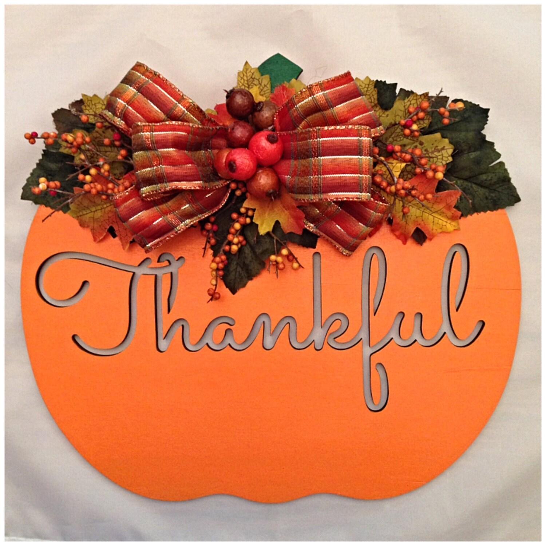 Wooden Pumpkin Wall Decor. Thanksgiving Decor. Thanksgiving Wall ...