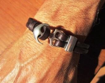 mens bracelet, mens anchor bracelet, nautical jewelry, anchor bracelet, mens jewelry, gifts for men, friendship bracelets, bracelets for men