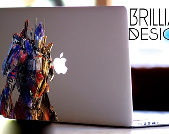 Optimus Prime,Transformers Decal,Sticker,Skin,MacBook Pro, Macbook Air,Gift, Geekery, Optimus Prime, Prime, for him,for her