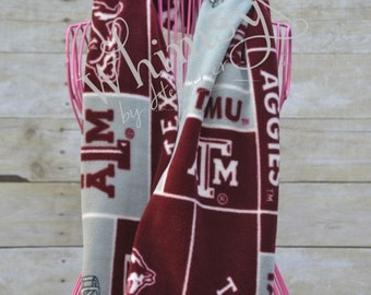 Texas Aggies Fleece Infinity Scarf