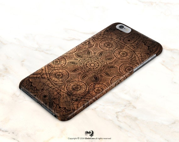 iPhone 6s Case wood, iPhone 7 Case Mandala iPhone 7 Plus Case Wood iPhone 6 Plus Case, iPhone 6s Case, Moroccan Samsung Galaxy S7 Case Matte