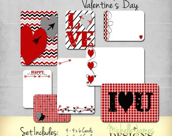 Project Life Inspired Valentine Scrapbooking Kit