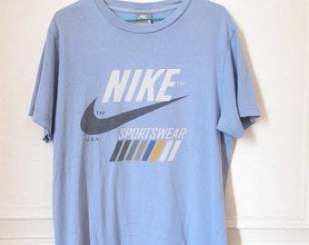 Vintage Nike Light Purple Tshirt