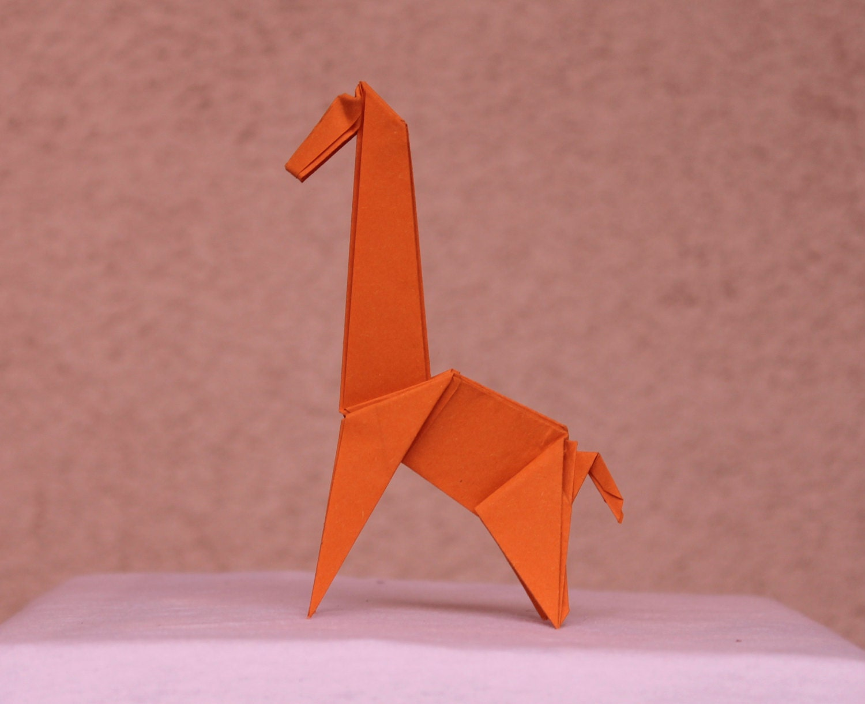Giraffe Origami - photo#43