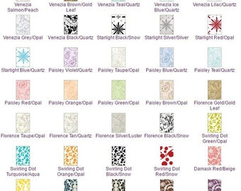 25 Pack of Pattern Blank Cards 3 1/4 x 4 3/4
