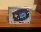 Game Boy Advance Black Console Repo Box