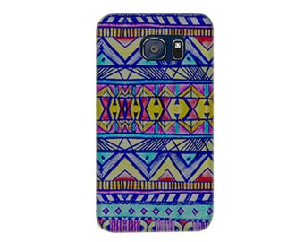 Clearance! For Samsung S6 Case, Neon Light Hard Case Phone Cover