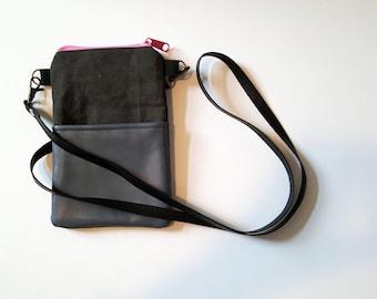 Small day bag / cross body bag/ cell phone bag