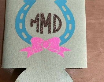 Cold beverage coolers ..personalized and monogrammed, with your initials, name, message or your  design,