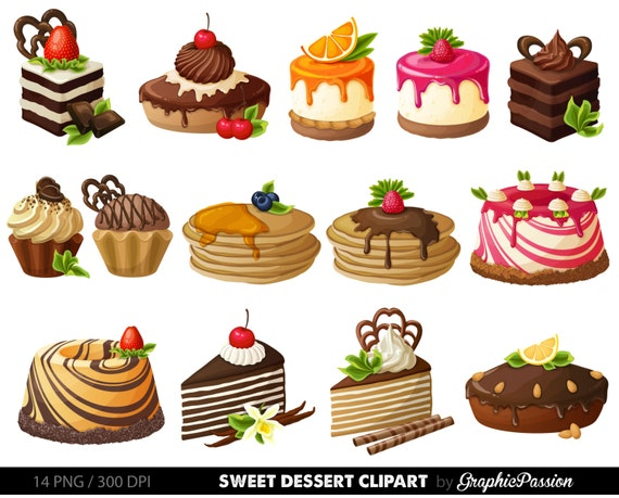 free clipart images desserts - photo #45