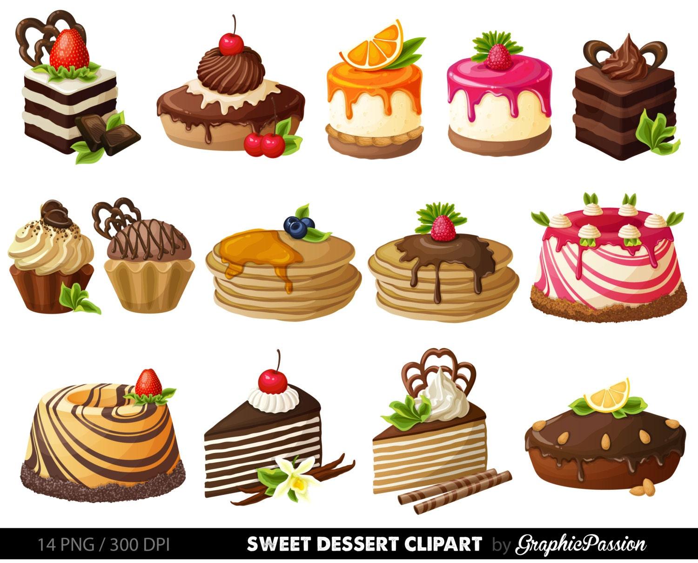 Cake Digital Clipart Pastry Clip art Sweet Treat Cake clip art (1500 x 1208 Pixel)