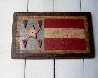 Colonial  Star/Hearts Flag