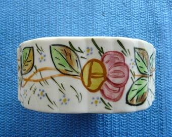 "BLUE RIDGE Pottery-Rose Marie Candy Box (no lid)-5""x2"""
