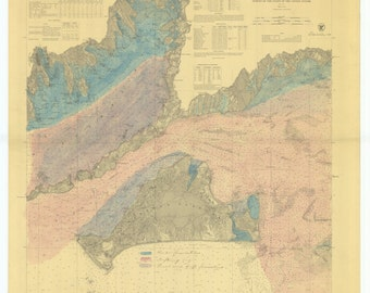 Muskeget Channel to Buzzard's Bay Historical Chart 1874