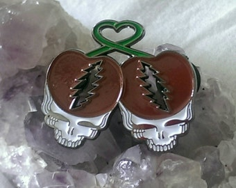 Steal Your Cherry - Grateful Dead Hat Pin