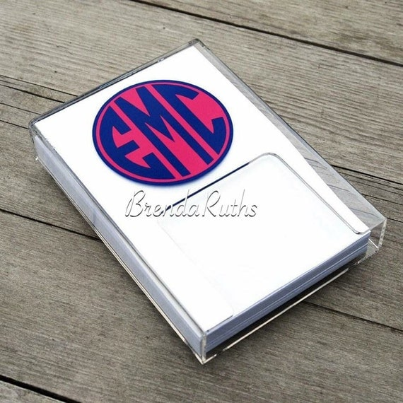 Custom Notepads Memo Pads: Memo Pad Holder Note Pad Personalized Note Pad By BrendaRuths
