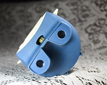 Vintage GAF Blue Viewmaster. 1970s. Vintage Toys. Lighted Viewer.