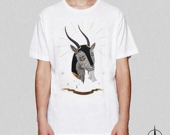 Screenprinted T-shirt Oh My Goat