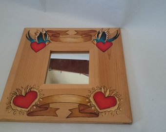 Swallow and Corazon Mirror
